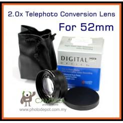 Camzilla 2.0x Telephoto Conversion Lens - 52mm