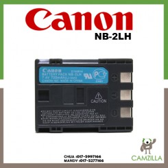Canon NB-2LH Rechargeable Lithium-Ion Battery Pack Compatible for Canon Elura 85 90 MV800 800i 900 920 EOS 350D 400D PowerShot G7 G9 S70 S80 R100 R11
