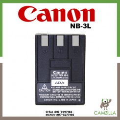 Canon NB-3L Lithium-Ion Battery Pack (3.7v 790mAh)