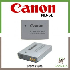 NB-5L Lithium-Ion Battery Pack (3.7V, 1120mAh) Canon PowerShot S110 S100 SX220 HS SX230 HS SX210 IS SX200 IS SD990 IS SD880 IS SD890 IS SD790 IS SD950 IS SD870 IS SD850 IS SD900 SD800 IS SD700 IS SD970