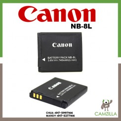 Canon NB-8L Rechargeable Lithium-Ion Battery Pack (3.6V, 740mAh) for Canon Powershot A3000 IS, A3100 IS