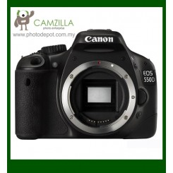 Canon EOS 550D Digital SLR Camera (Body Only) (Free Canon DSLR Bag + 4GB Memory Card)