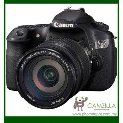 "Canon EOS 60D DSLR Camera with EF-S 18-200mm f/3.5-5.6 IS Lens (Free 8GB Memory Card) (18MP CMOS, 1920 x 1080 HD Video, 3.0"" Flip-Out LCD, DIGIC 4)"