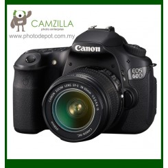 "Canon EOS 60D DSLR Camera with EF-S 18-55mm f/3.5-5.6 IS Auto Focus Lens (Free 8GB Memory Card) (18MP CMOS, 1920 x 1080 HD Video, 3.0"" Flip-Out LCD, DIGIC 4)"