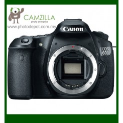 "Canon EOS 60D DSLR Camera (Free 8GB Memory Card) (18MP CMOS, 1920 x 1080 HD Video, 3.0"" Flip-Out LCD, DIGIC 4)"