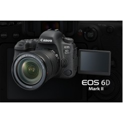 Canon EOS 6D Mark II ( Black ) Digital SLR Camera + Kit EF24-105mm f/4L IS II USM