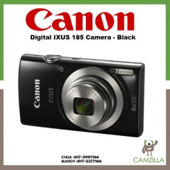 Canon Digital IXUS 185 Camera - Black