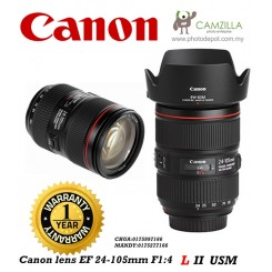 CANON LENS EF 24-105mm 1:4 L USM IS II