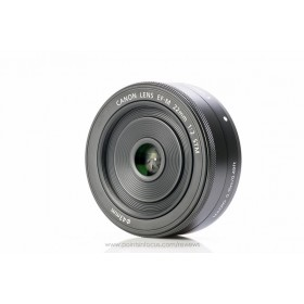Canon Lens EF-M 22mm f/2 STM  ( Graphite / Silver )