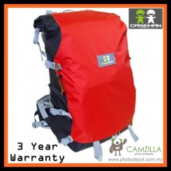 Caseman UL Outpack AOB2 Camera Back Pack Camera Bag - AOB2-03 Red