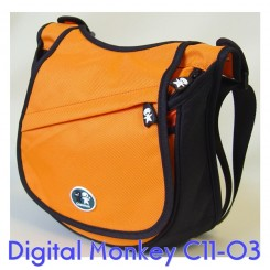 Caseman Digital Monkey Camera Bag C11-03 - Orange