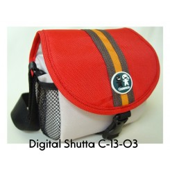 Caseman Digital Shutta Camera Bag C13-02 - Red
