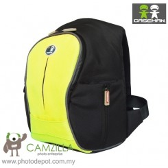 Caseman Foto Min Trekka Camera Touch Pad Back Pack Camera Bag - (CP04-Yellow)