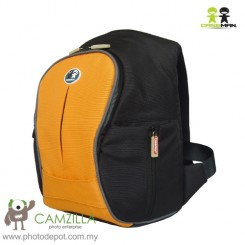 Caseman Foto Min Trekka Camera Touch Pad Back Pack Camera Bag - (CP04-Orange)