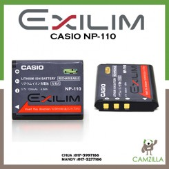 Casio NP-110 Rechargeable Battery EX-Z2300, EX-Z2000 and EX-ZR10