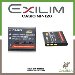 Casio NP-120 Rechargeable Lithium-Ion Battery (600mAh)