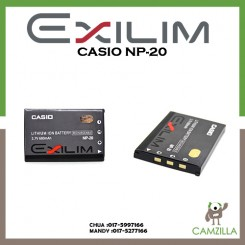 Casio NP-20 Lithium Ion Rechargeable Battery for the Casio Digital Camera