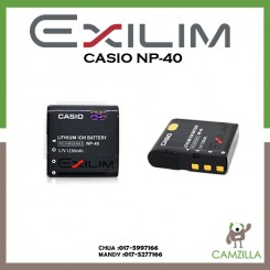 Casio NP-40 Lithium Ion Rechargeable Battery for the Casio Digital Camera