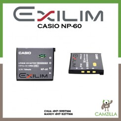 Casio Exilim NP-60 Battery for the EX-S10, EX-Z80, and EX-Z9 Casio Digital Cameras