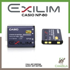 Casio NP-80 Lithium Ion Rechargeable Battery for the Casio Digital Camera