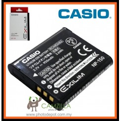 NP-150 Rechargeable Battery for Casio Exilim EX-TR10, EX-TR15, EX-TR300, and EX-TR350