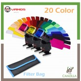 Flash Speedlite 20pcs  Color Gels Filters Compatible for Canon Nikon Sony Godox Yongnuo Camera Flash Light