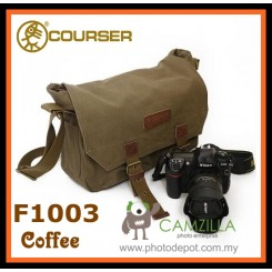 COURSER F1003 DSLR CAMERA BAG ( COFFEE )