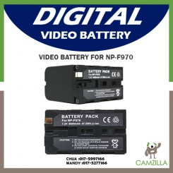 Video Battery NP-F970 camcorder battery Sony HD1000C F950 F960 NX5C NX3 Z5C
