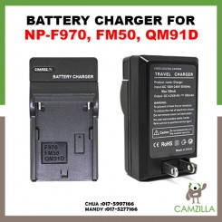 Battery Charger For Sony NP-F970 FM50 QM91D