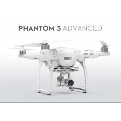 DJI Phantom 3 Advanced Quadcopter with 2.7k Video and Advanced Live View