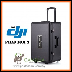 ALUMINUM TROLLEY CASE FOR DJI PHANTOM 3 STANDARD PROFESSIONAL AND ADVANCED