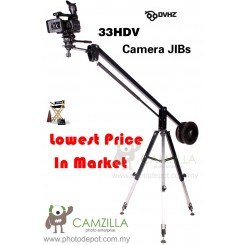 DVHZ - 33HDV 1.7Meter Video / Dslr Camera Crane Jib - Light Version