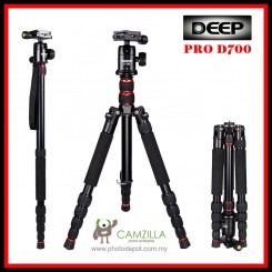 Deep Pro D-700 Dslr Camera Portable Tripod ( Can Be Monopod)