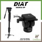 Diat Madv 360 + KS5P Video Monopod(Black)