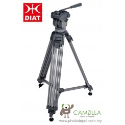 Diat VT-2500 Professional Video Fluid Head Tripod