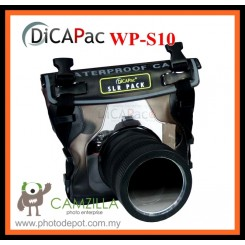 DiCAPac (Korea) WP-S10 SLRpack Waterproof Case for Large SLR & DSLR (5 Meters Depth)