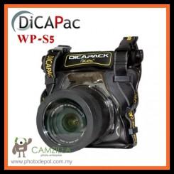 DiCAPac WP-S5 Waterproof Camera SLR Pack Underwatercase