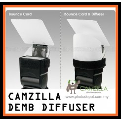 Bounce Card+Flash Diffuser ( Similar like Demb Diffuser ) For Canon Nikon Sony Yongnuo Nissin