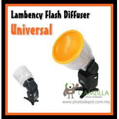 Universal Lambency Flash Diffuser for Canon,Nikon,Sony,Nissin,Yongnuo Speedlite