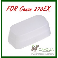 Camzilla Flash Soft Diffuser for Canon 270EX & 270EXII
