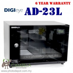 DigiEye AS-23L DRY CABINET DRY BOX (23L) Digital Meter - BLACK