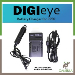 DigiEye Battery Charger for Sony NP-F550 LED Camera Light