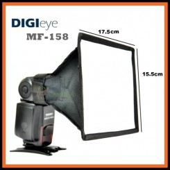 DiGi Eye MF-158 - Universal speedlite softbox - Suitable for all speedlites