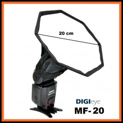 DiGi Eye MF-20 - Universal speedlite softbox - Suitable for all speedlites