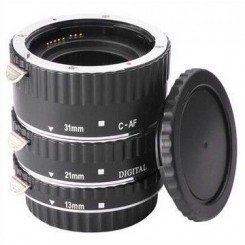 Camzilla Metal Auto Focus AF Macro Extension Tube / Ring for CANON EF-S Lens