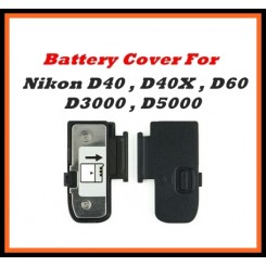 Battery Door Cover Lid Cap Replacement Part Nikon D40/D40X/D60/D3000/D5000 Digital Camera Repair