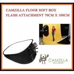 CAMZILLA FLOOR SOFT BOX FLASH ATTACHMENT 70CM X 100CM
