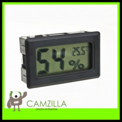 DigiFox LCD Digital Display Temperature and Humidity Meter for Dry Cabinet