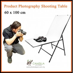 DigiFox Folding Product Photography Shooting Table 60 x 100 cm
