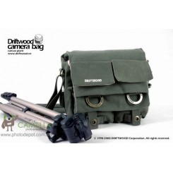 Driftwood 7621 Camera Camcorder Shoulder Bag 【Army Green】